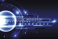 Link toActive blue glow vector 4