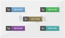 Link toAdd to cart icon psd button