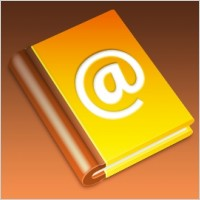 Link toAddress book icon