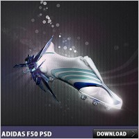 Link toAdidas f50 free psd file
