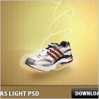 Link toAdidas light psd file