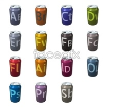 Link toAdobe can social media icons