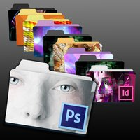 Link toAdobe creative suite 6 (cs6) program folder icons