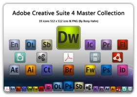 Link toAdobe cs4 master collection
