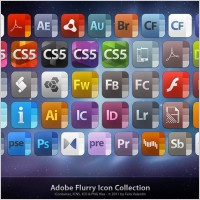 Link toAdobe flurry icon collection icons pack