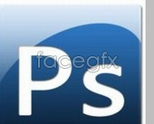 Link toAdobe ps series icon icons blue background psd