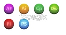 Link toAdobe software icons