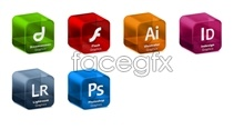Link toAdobe systems software solid icons