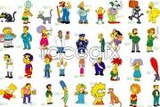 Link toAdorable simpsons cartoon vector
