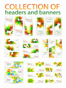 Link toAesthetic pattern banner vector