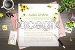 Link toAesthetic pattern cards psd