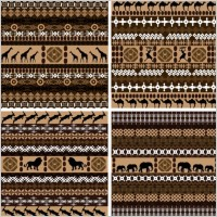 Link toAfrican graphic design background 01 vector