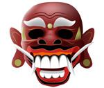 Link toAfrican masks vector