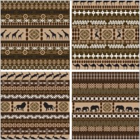 Link toAfrican traditional background pattern 01 vector