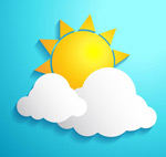 Link toAfter the clouds sun vector