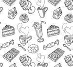 Link toAfternoon tea background vector