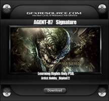 Link toAgent r7 psd preview