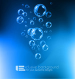 Link toAir bubbles in water vector