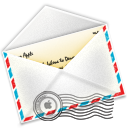 Link toAir mail icon