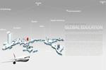 Link toAircraft world map creative psd
