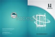 Link toAlbum cover design of the building company construction enterprises psd stuff