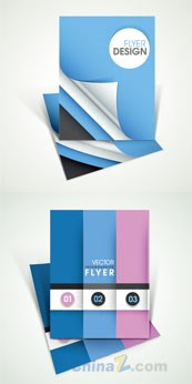 Link toAlbum cover design pure color simple vector