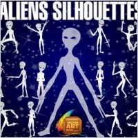 Link toAliens silhouettes