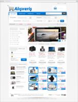 Link toAlisveris sitesi psd tasarim