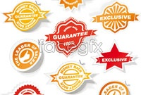 Link toAll kinds of badge label sticker vector
