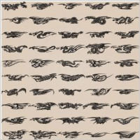 Link toAll kinds of dragon element patterns 01 vector
