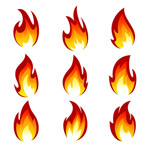 Link toAll kinds of fire vector