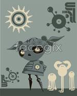 Link toAlternative illustration vector