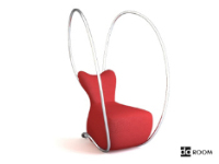 Link toAlternative modeling red lounge chair