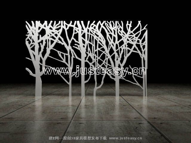 Link toAlternative tree decorations 3d model of screen (including materials)