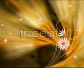 Link toAmber fantasy flower backgrounds psd