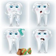 Link toAmusing tooth design vector free