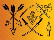 Link toAncient weapons vector free
