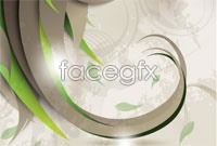 And plain plant flower background vector figure iv