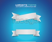 Link toAngle seam tags design vector