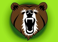 Link toAngry bear vector free