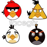 Link toAngry birds cartoon vector