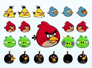 Link toAngry birds characters vector free
