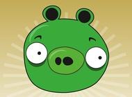Link toAngry birds pig vector free