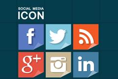 Link toAngular social media icon vector
