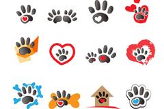Link toAnimal footprints vector logo