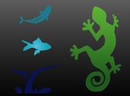 Link toAnimal icons vector free