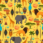 Link toAnimal seamless background vector