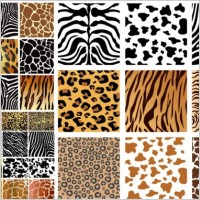 Link toAnimal skin texture vector background