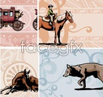 Link toAnimal theme background vector