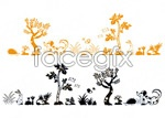 Link toAnimals and plants vector